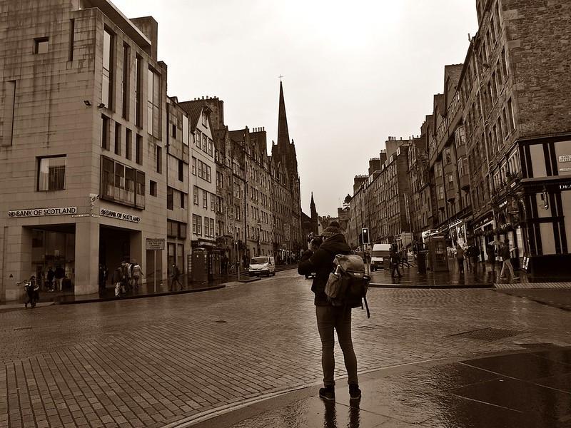 只會中文遊英國。愛丁堡隨拍