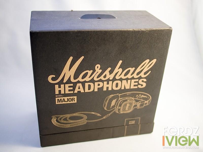 Marshall Major Pitch Black box