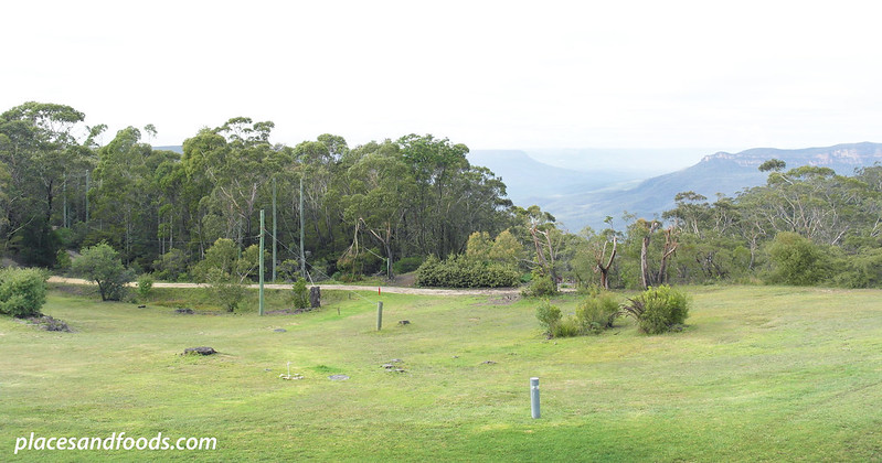 fairmont resort blue mountains view