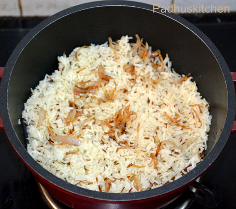 How to make jeera-pulao