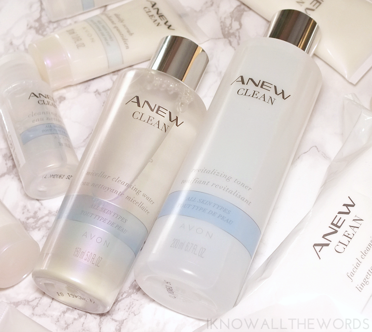 avon anew clean micellar and toner