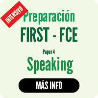 CAMBRIDGE intensives FCE Speaking