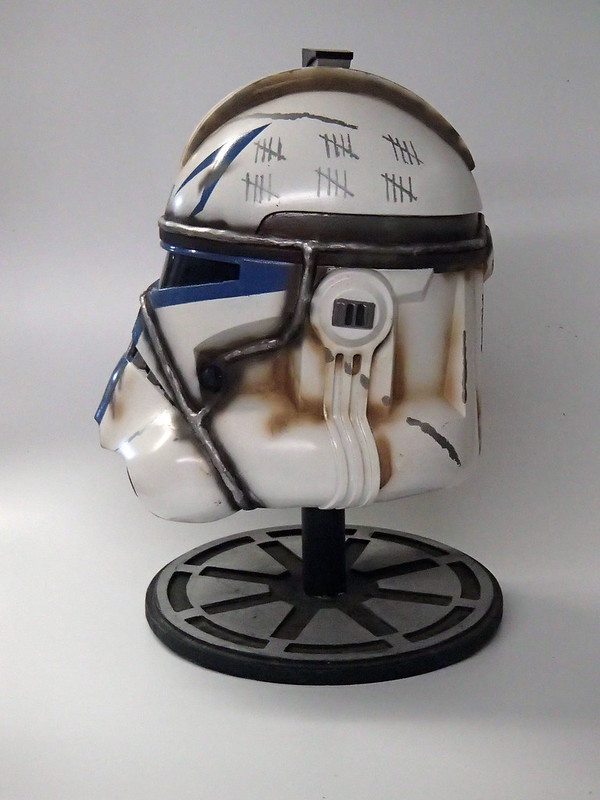 Captain Rex Helmet Finished 4