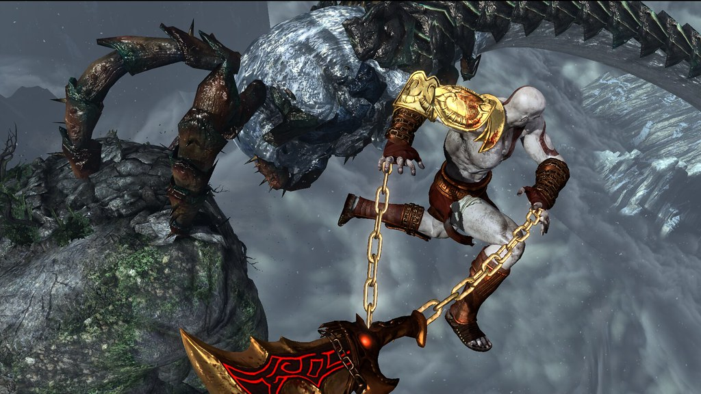 God of War III Remastered on PS4