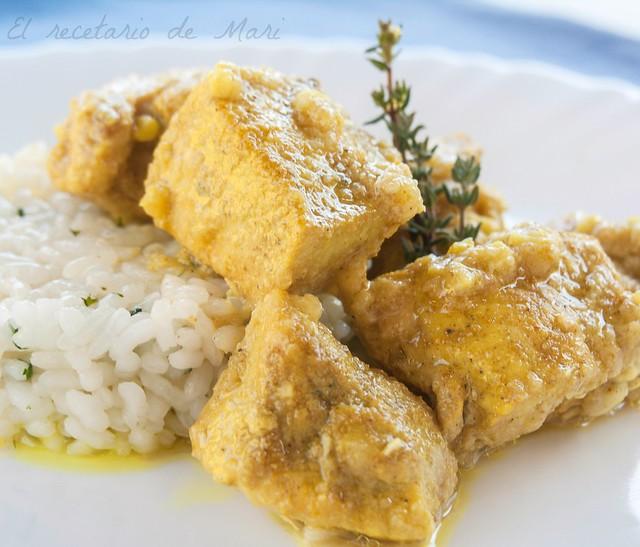pollo al curry 1