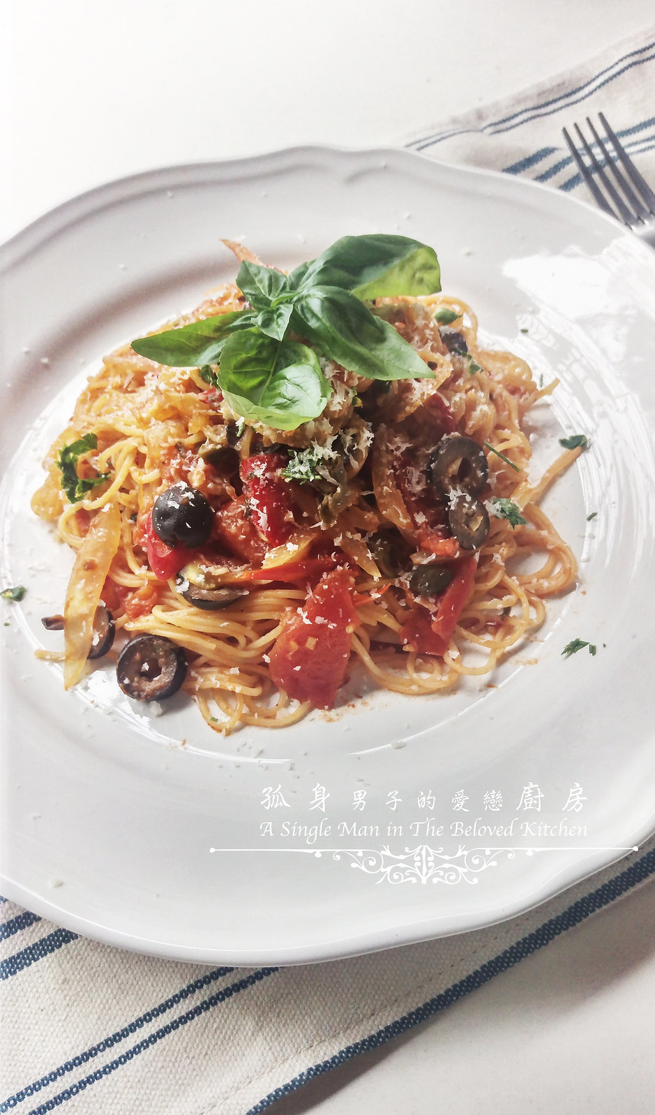 孤身廚房-煙花女義大利天使鳥巢麵22