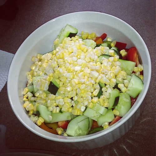 Simply perfect summer salad