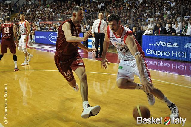 Reyer - Reggio: Darius Lavrinovic vs Tomas Ress