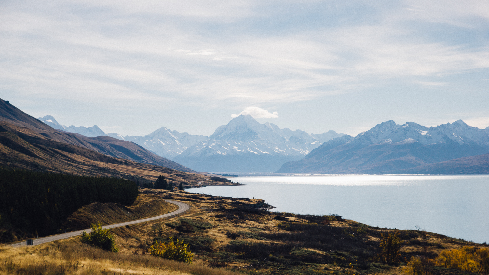 South Island, New Zealand - Peter's Lookout, Lake Pukaki