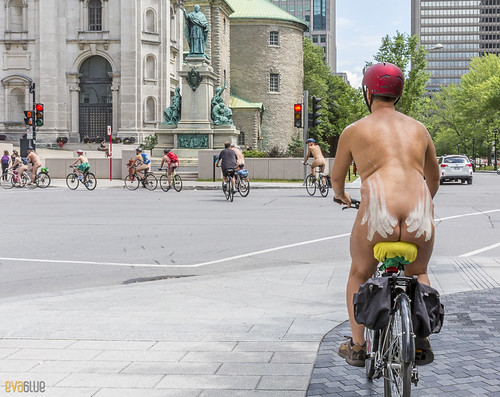 world naked bike ride montreal 47 | by Eva Blue