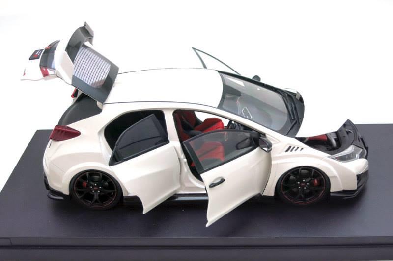 Ebbro 1/18 Honda Civic Type-R FK2 - Miscellaneous Brands - DiecastXchange.com Diecast Cars Forums