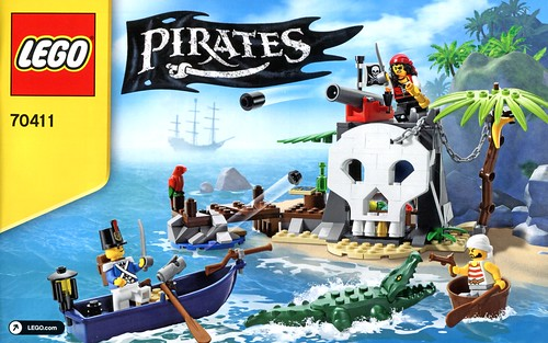 LEGO Pirates 70411 Treasure Island ins02