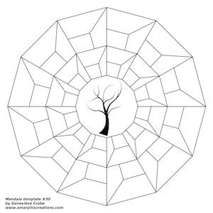 Mandala template 39