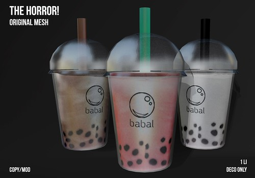 The Horror!~ Babal Tea @ Multicultural Menu