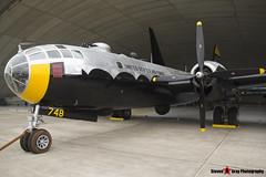 44-61748 G-BHDK - 11225 - IWM Imperial War Museum - Boeing TB-29A Superfortress - Duxford, Cambridgeshire - 150523 - Steven Gray - IMG_1174