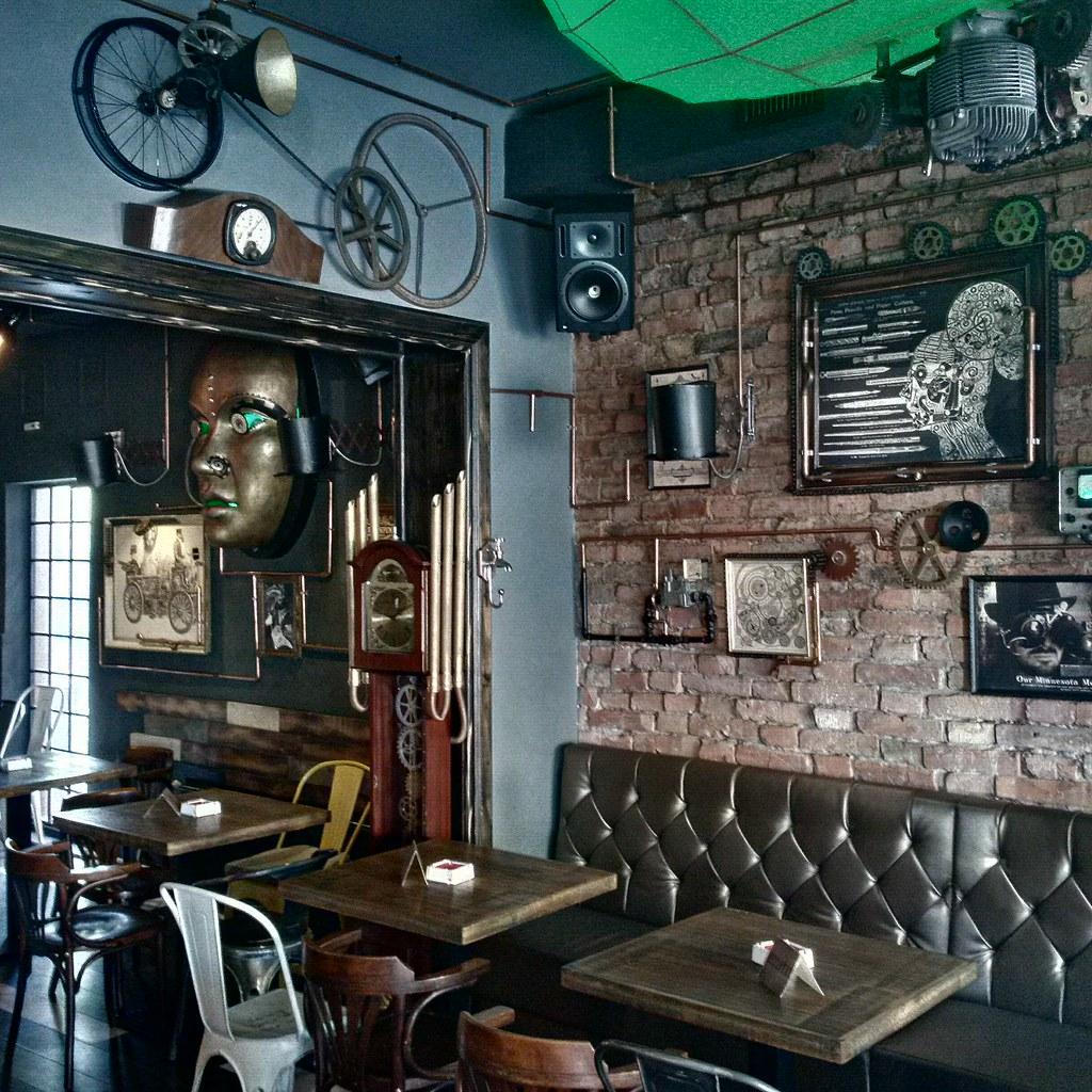 Joben bistro steampunk restaurant in cluj