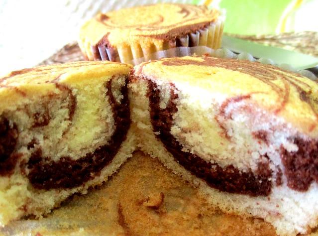 Marble cake, inside 2