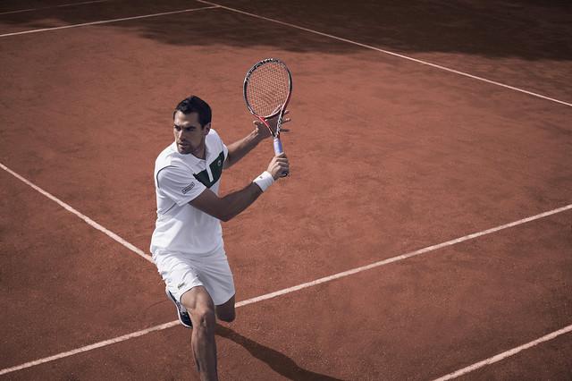 Jérémy Chardy Roland Garros outfit