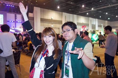 Thailand Comic Con 2015 - Miki & Turk