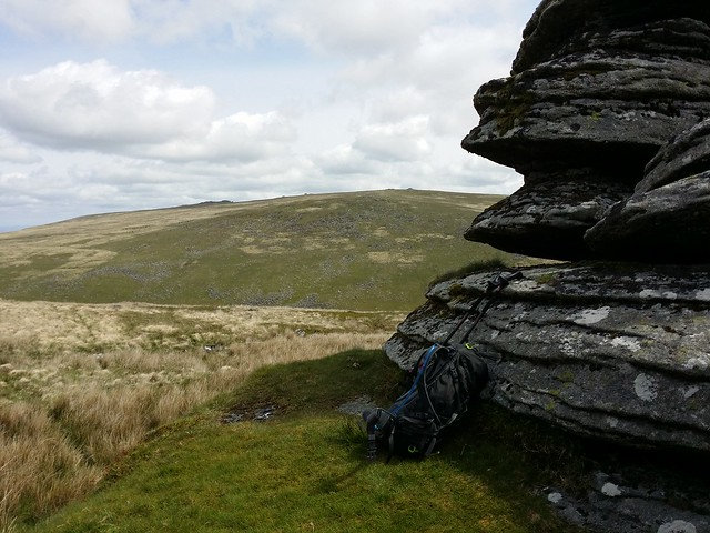 High Willhays ridge from Steng-a-tor