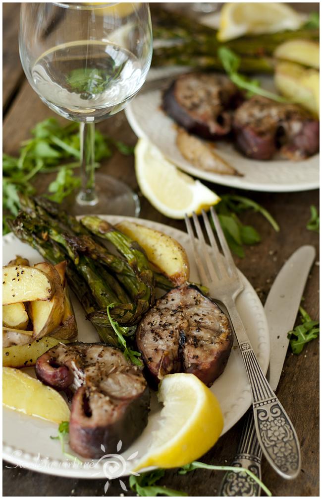 Šamas su smidrais ir bulvėmis (2)