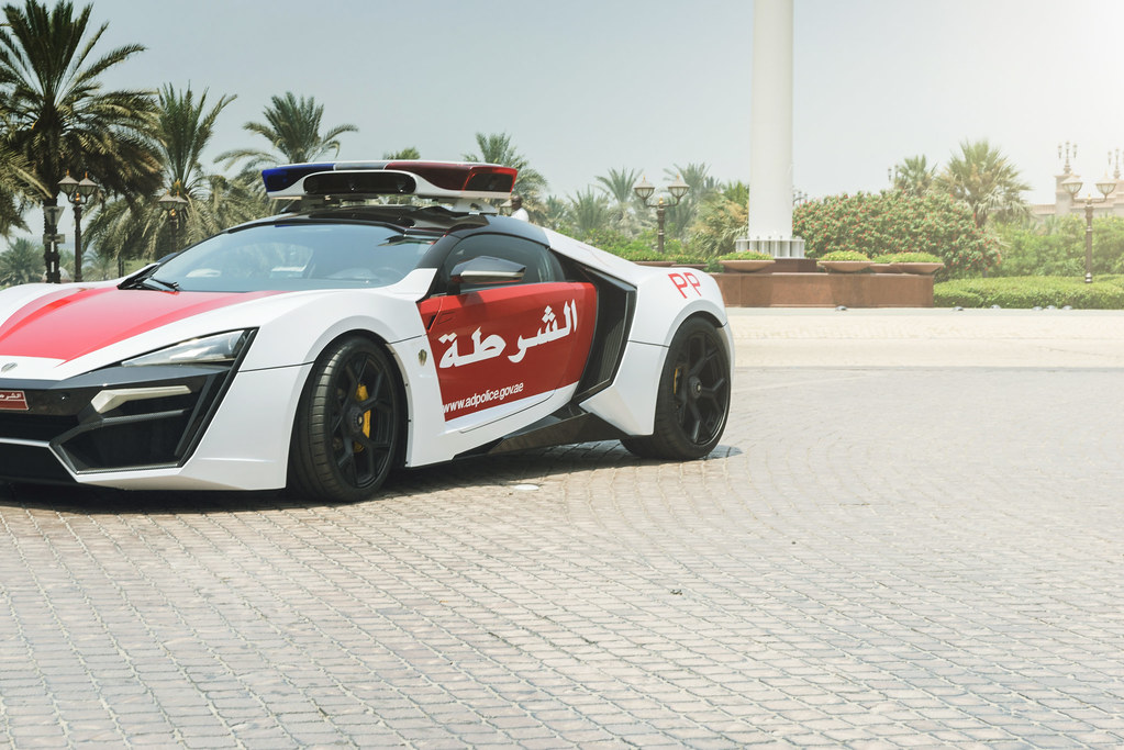 Abu Dhabi Police Lykan Hypersport Official Press Flickr