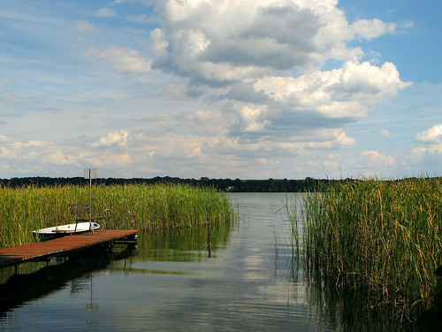 Idyll at Scharmuetzelsee, Brandenburg, Germany | by Batikart