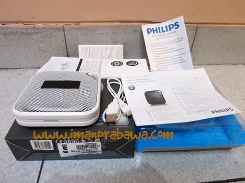 Review Philips BT 2500 Bluetooth Speaker 002