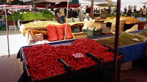 local farmers market in Alanya | by listraveler