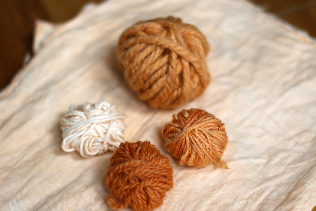 Natural Dyeing with Paprika
