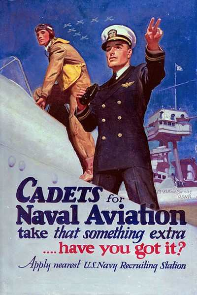 World War II Poster - Naval Aviation