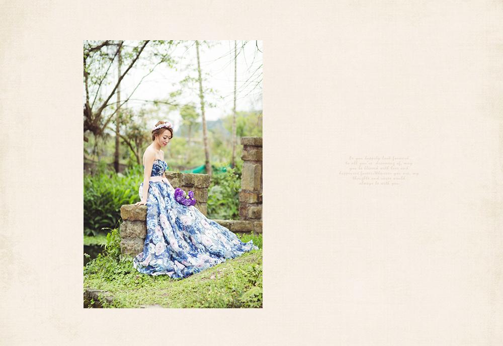 台北自助婚紗自然風格女攝影師婚紗寫真外拍