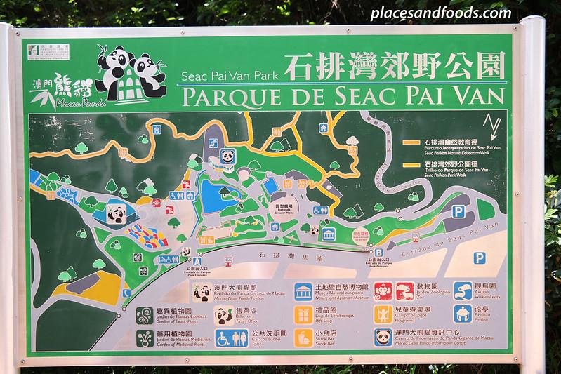 macau giant panda pavilion pai van park