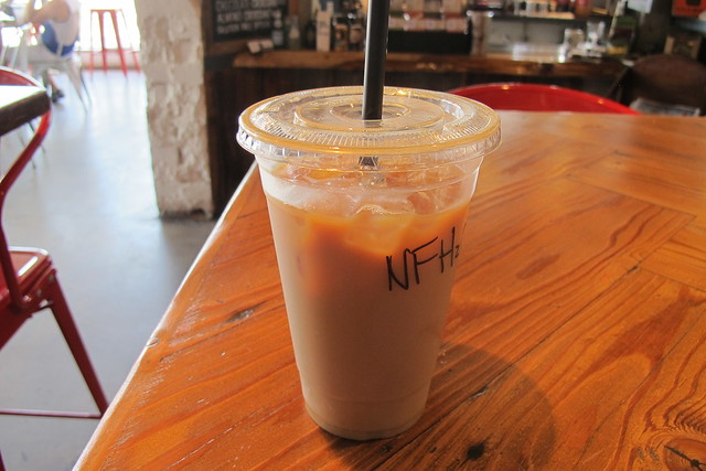Ernest Coffee Co. iced latte