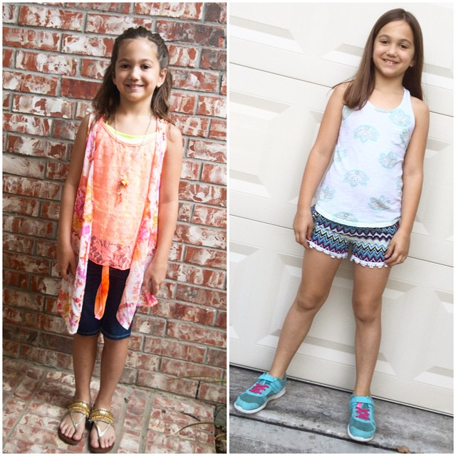 First & Last day of 2nd Grade!! Can't believe I'll have a 3rd Grader now!!!! This little girl just fills my heart!!!!! (She will be happy to see how much her hair has grown!!)