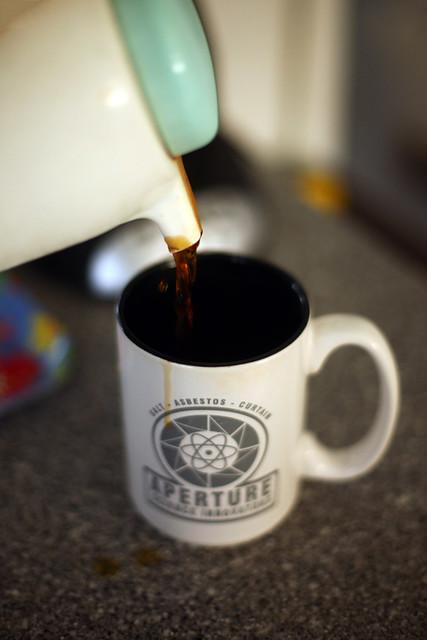 kaffetørst