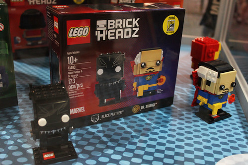 LEGO BrickHeadz Black Panther & Dr. Strange (41493)