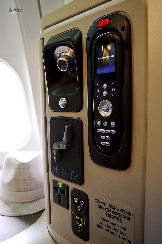 IFE and seat control