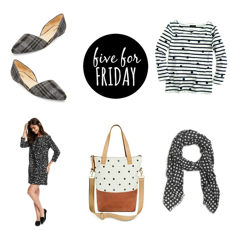 five for friday fall black and white patterns | Style On Target
