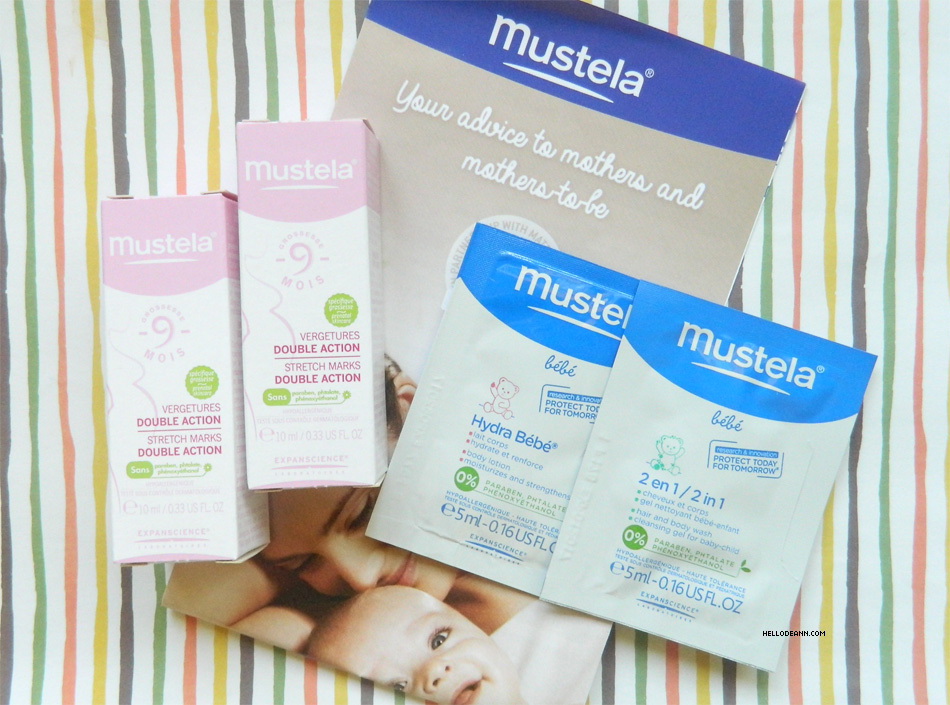 Spring Into Beauty April BDJBox 2015 Mustela Stretch Marks Double Action - Hydra Bebe