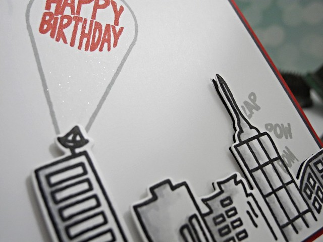 City Birthday by Jennifer Ingle #justjingle #averyelle #simonsaysstamp