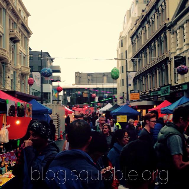 Wellington Night Markets March 2015