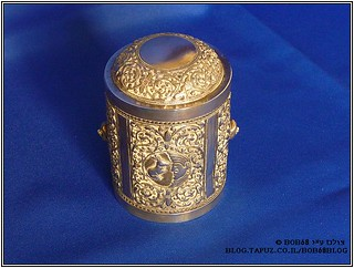 קופסת סיגריות כחלק מהאוסף של קופסאות למוצרי עישון