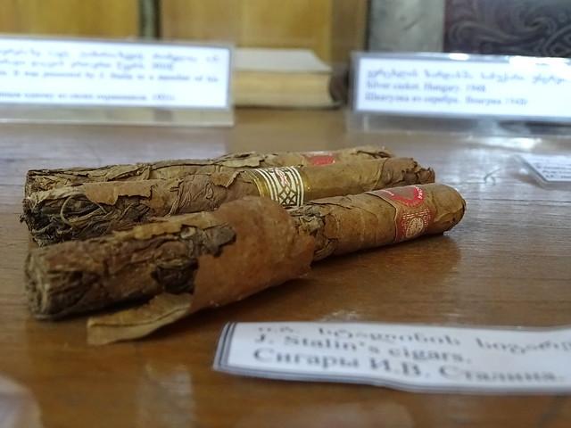 Stalin's Cigars - Stalin Museum - Gori - Georgia