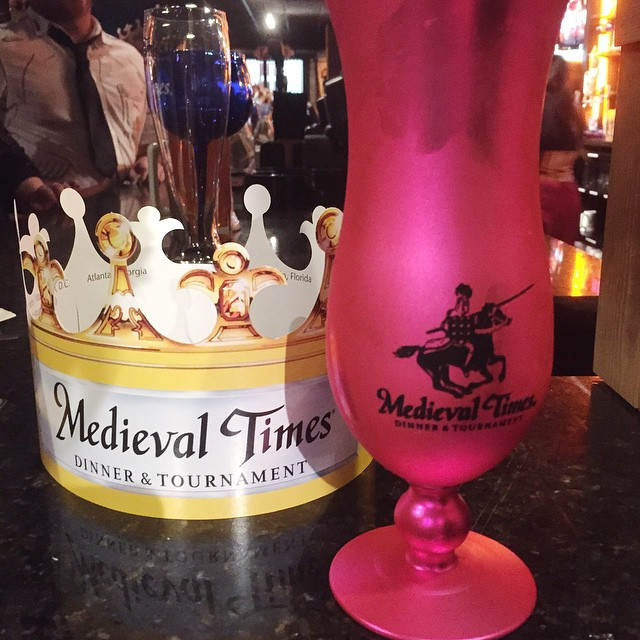 Medieval Times is our #AKon tradition since it's right next door! #MTFan