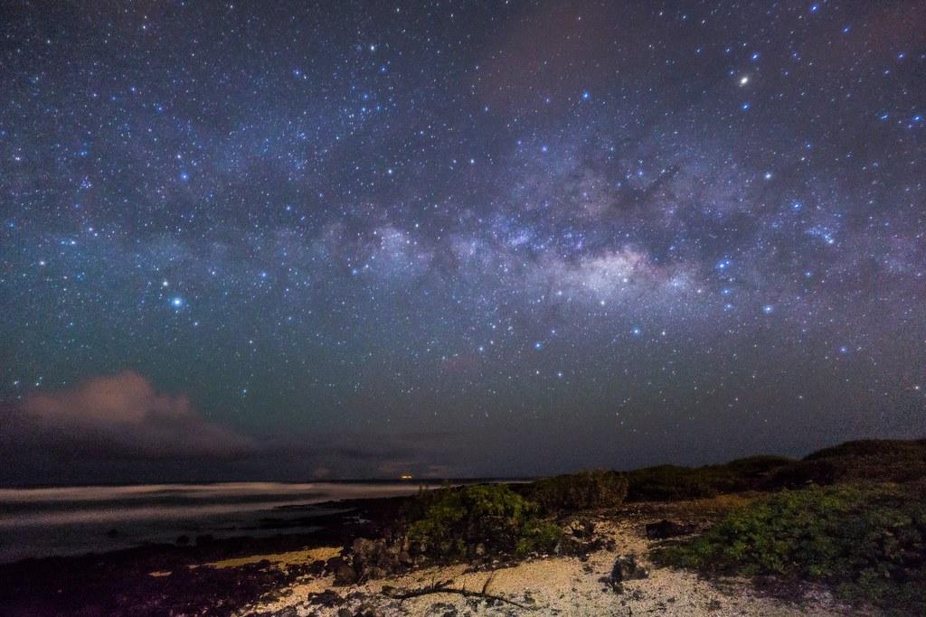 Night Sky At Mkapuu Beach ILCE 6000 Carlzeiss Touit2812