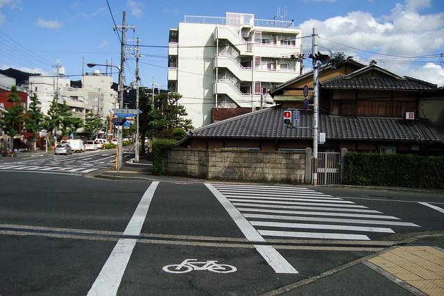 2015/06 北山川端の横断歩道