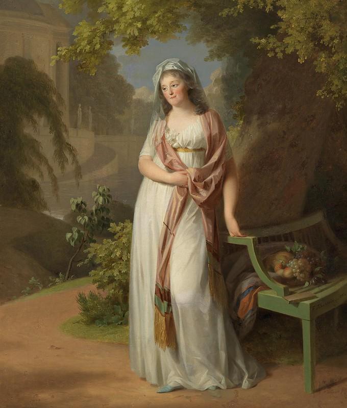 Johann Friedrich August Tischbein - Luise von Brandenburg-Schwedt (1794)