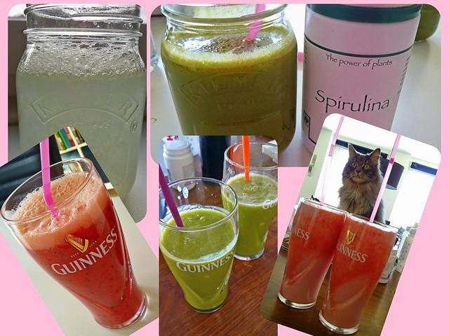 Juicekur dag 2