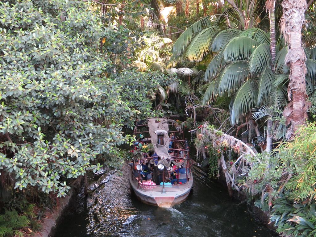 Jungle Cruise Adventureland Disneyland Anaheim Califor